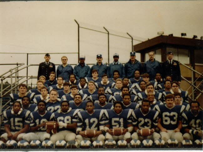 Ram 1982 CSC Champions Ramstein Air Base Germany