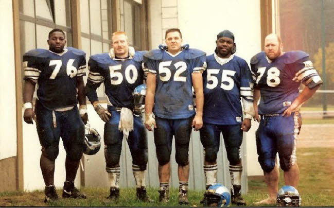 Ram 1993 Ramstein Offensive Line