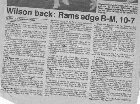 Ramstein Rams Article 17a