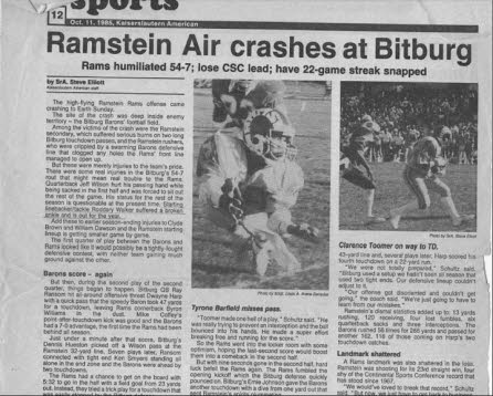 Ramstein Rams Article 2